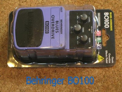 BEHRINGER BluesOverDriver BO100