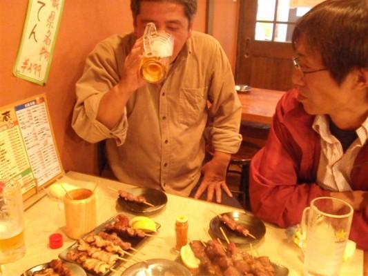 小町+吉田=酔っ払い