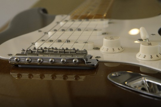 '57 Stratocaster下から